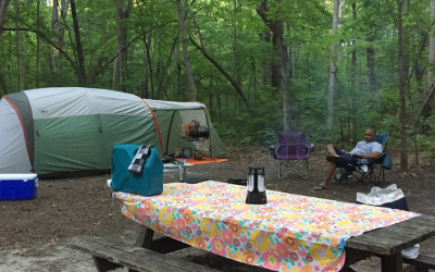 Why would anyone want to camp (sleep outside on purpose)?